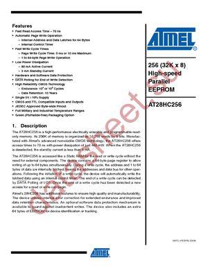 AT28HC256E-12LM/883 datasheet скачать даташит