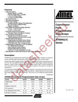 AT6003-2JC datasheet скачать даташит