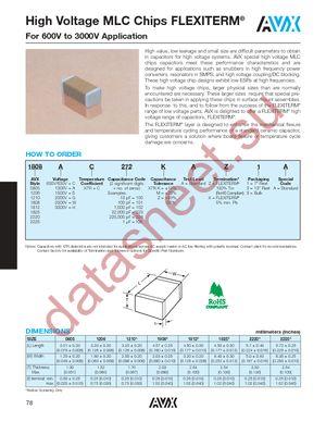 1210GC102KAZ1A datasheet скачать даташит