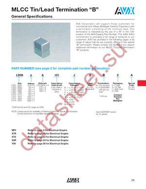 LD055A271FAB4A datasheet скачать даташит