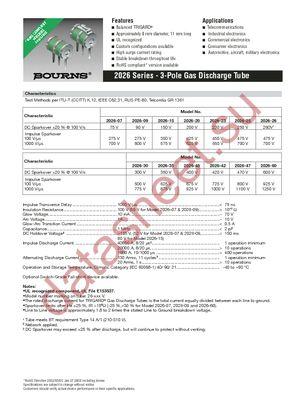2026-25-C8 datasheet скачать даташит