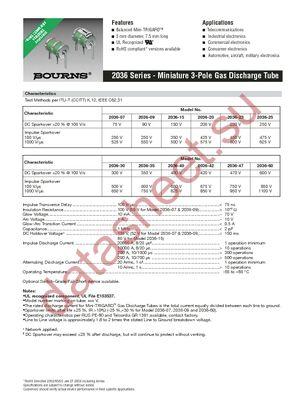 2036-30-C2 datasheet скачать даташит
