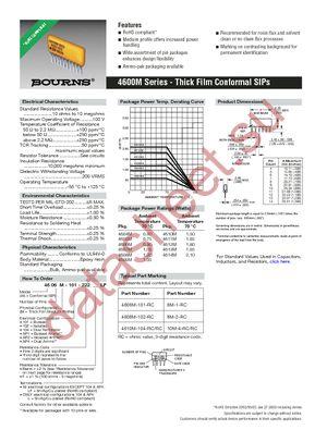 4606M-101-331 datasheet скачать даташит