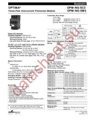 OPMNGSA254 datasheet скачать даташит