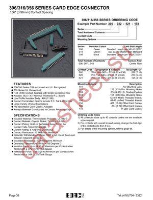 306-022-520-102 datasheet скачать даташит
