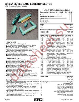357-030-520-202 datasheet скачать даташит