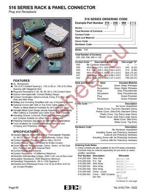 516-120-000-202 datasheet скачать даташит