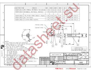 70297-002LF datasheet скачать даташит