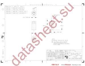 77030-001LF datasheet скачать даташит