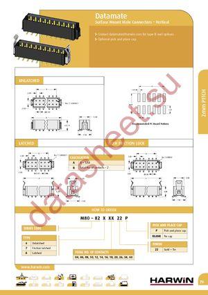 M80-8282622 datasheet скачать даташит