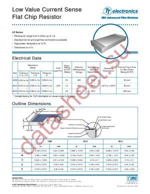 LR2010-LF-R058-F datasheet скачать даташит