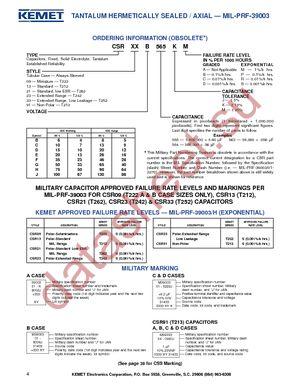 T213B605K020BS datasheet скачать даташит