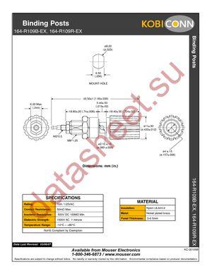164-R109B-EX datasheet скачать даташит