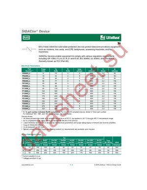 P0080SALRP datasheet скачать даташит