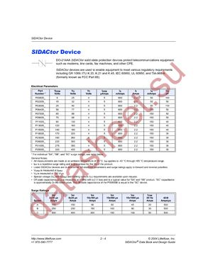 P3500SCLRP datasheet скачать даташит