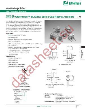 SL1021A300RF datasheet скачать даташит