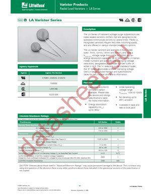 V130LA5P datasheet скачать даташит