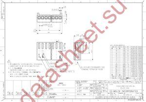 22-01-1052 datasheet скачать даташит
