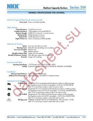 SW3831D-RO datasheet скачать даташит