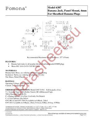 6387-SC-G-4 datasheet скачать даташит