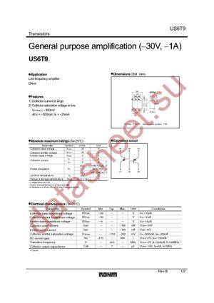 US6T9TR datasheet скачать даташит