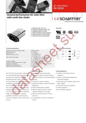 FN9222ES1B-12-06 datasheet скачать даташит