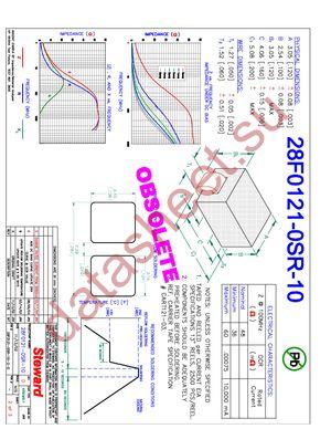 28F0121-0SR-10 datasheet скачать даташит