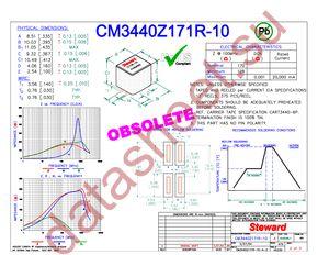 CM3440Z171R-10 datasheet скачать даташит