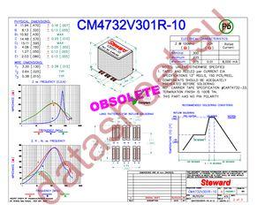 CM4732V301R-10 datasheet скачать даташит