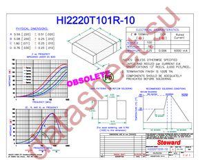 HI2220T101R-10 datasheet скачать даташит