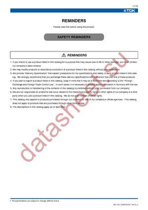 C4532C0G3F221K datasheet скачать даташит