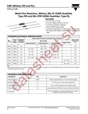 RN65C1434F datasheet скачать даташит