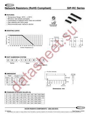 268-51-RC datasheet скачать даташит