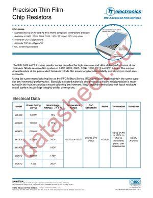 PFC-W1206LF-03-8870-B datasheet скачать даташит