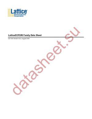 LFE2-70SE-6F672I datasheet скачать даташит