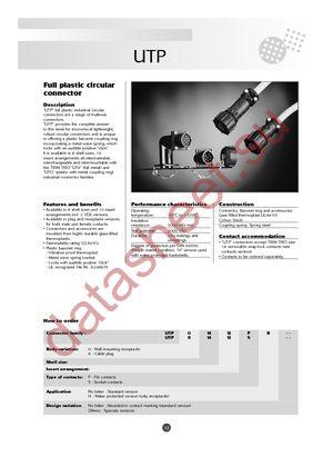 UTP02028S datasheet скачать даташит